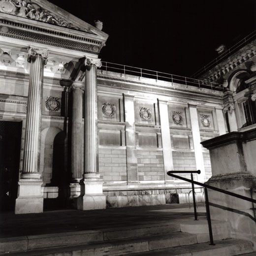 ashmolean at night