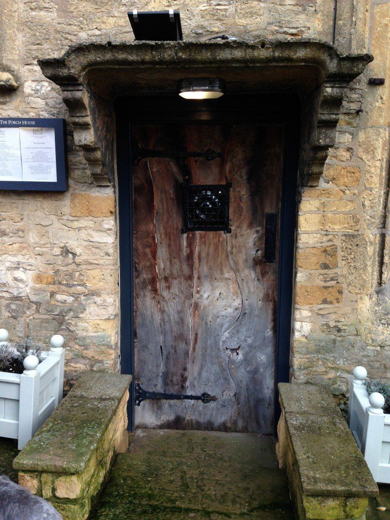 The 16th century front door