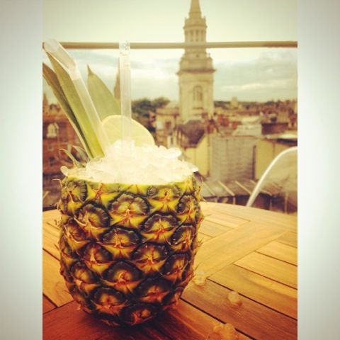 pinapple cocktail