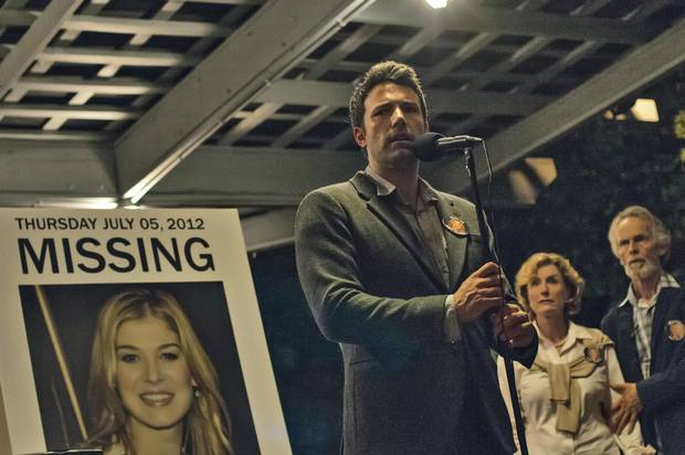 Nick Dunne (Ben Afflec) in Gone Girl