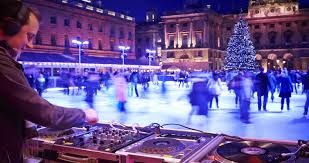 Skating Somerset House