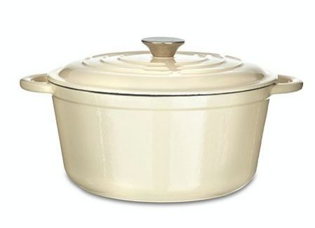 Cream cast iron pot, Was £110, now £44.00!