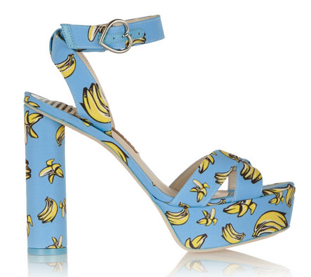 Amanda printed faille sandals, by Sophia Webster, £295
