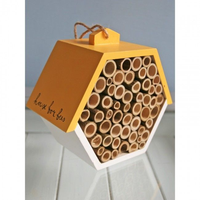 Hexagonal bee house, £15.95, The Thoughtful Gardener