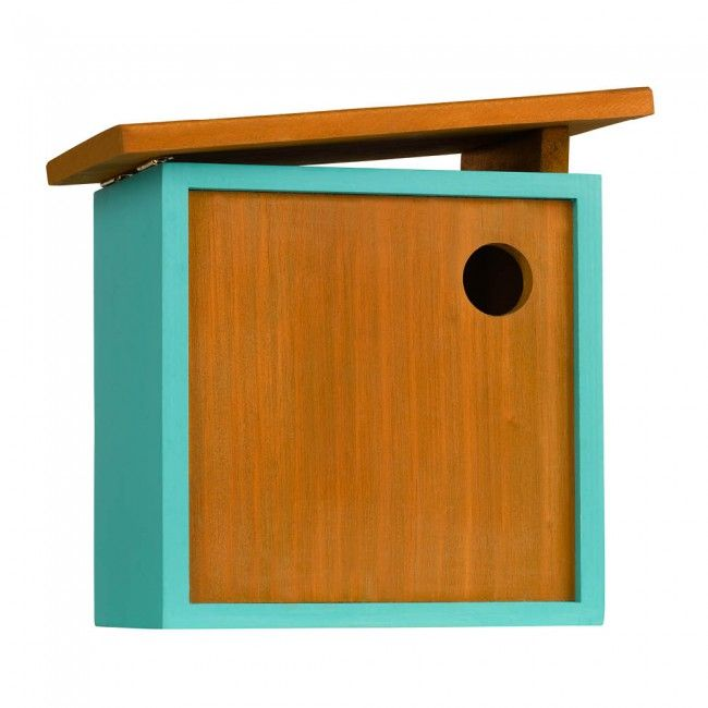 Wooden bird house, £29.95