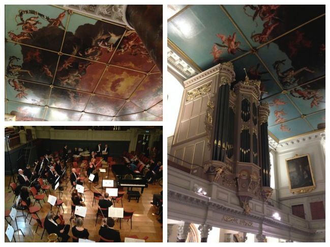 sheldonian theatre collage