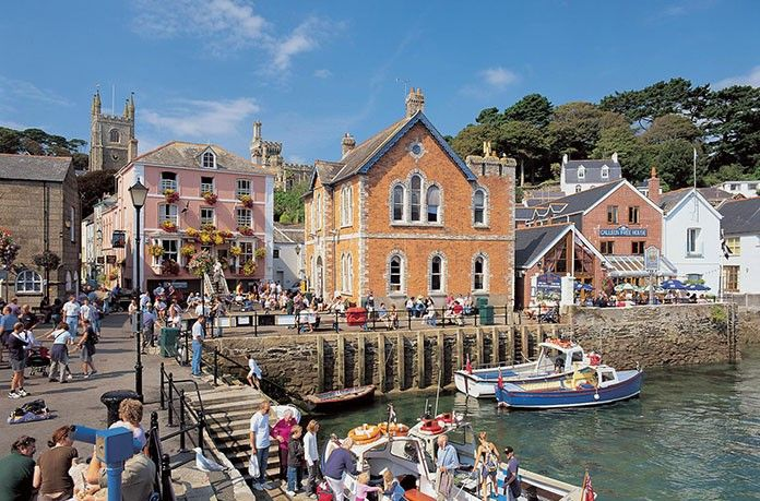 The waterfront at Fowey