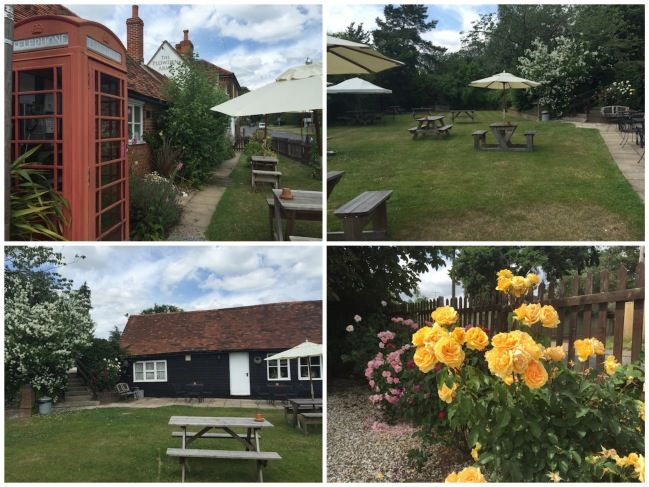 plowden arms garden collage