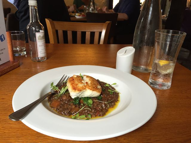 The curried hake