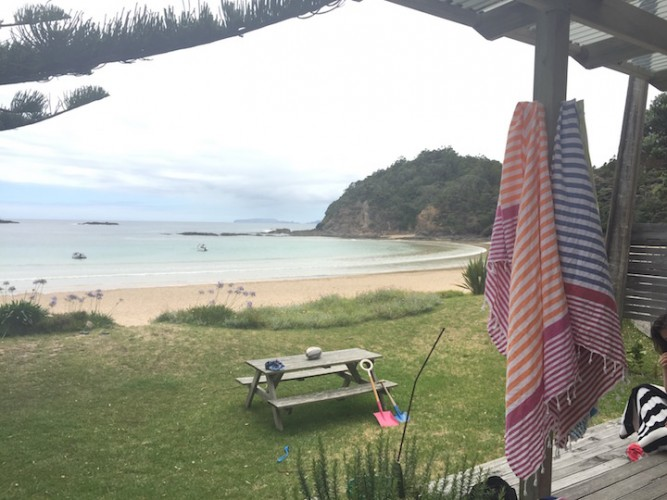 Gorgeous view from the hol home. Check out the Muddy boutique Turkish towels, they were awesome!
