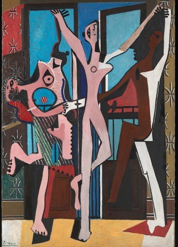 Picasso's 'The Three Dancers'