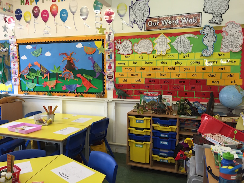 The lovely nursery - very well equipped and nurturing
