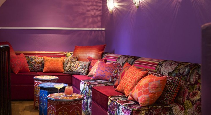 The Moroccan bar