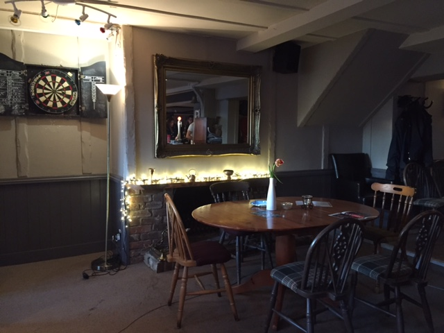 Inside the pub