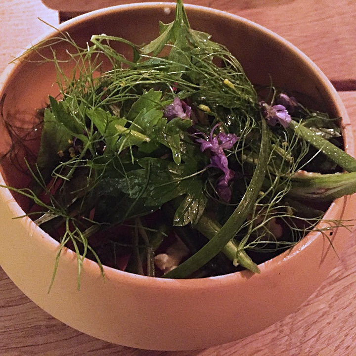 Kitchen garden salad