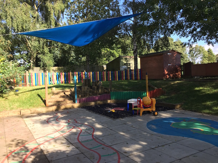 The nursery play area