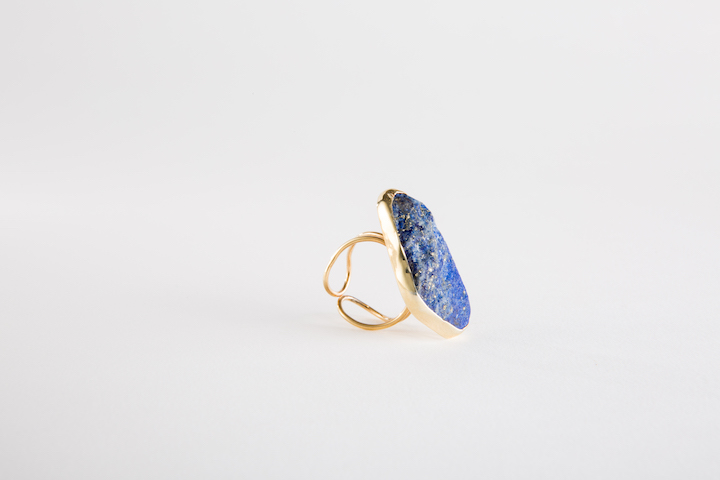 india-blue-ring