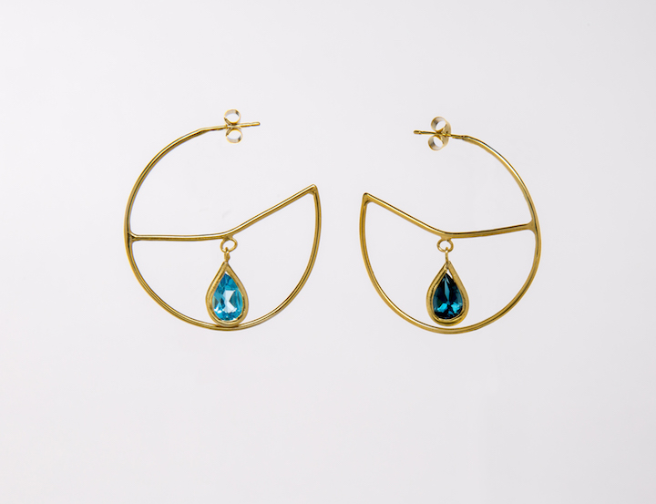 india-mahon-shaped-earrings
