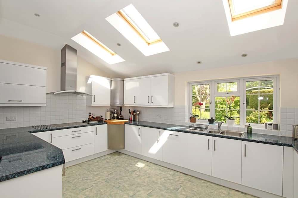 bright white kitchen sky lights