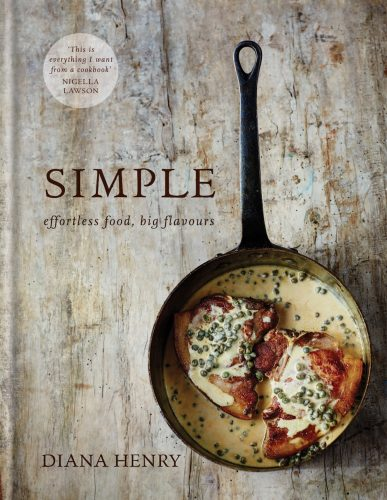 simple effortless food book cover