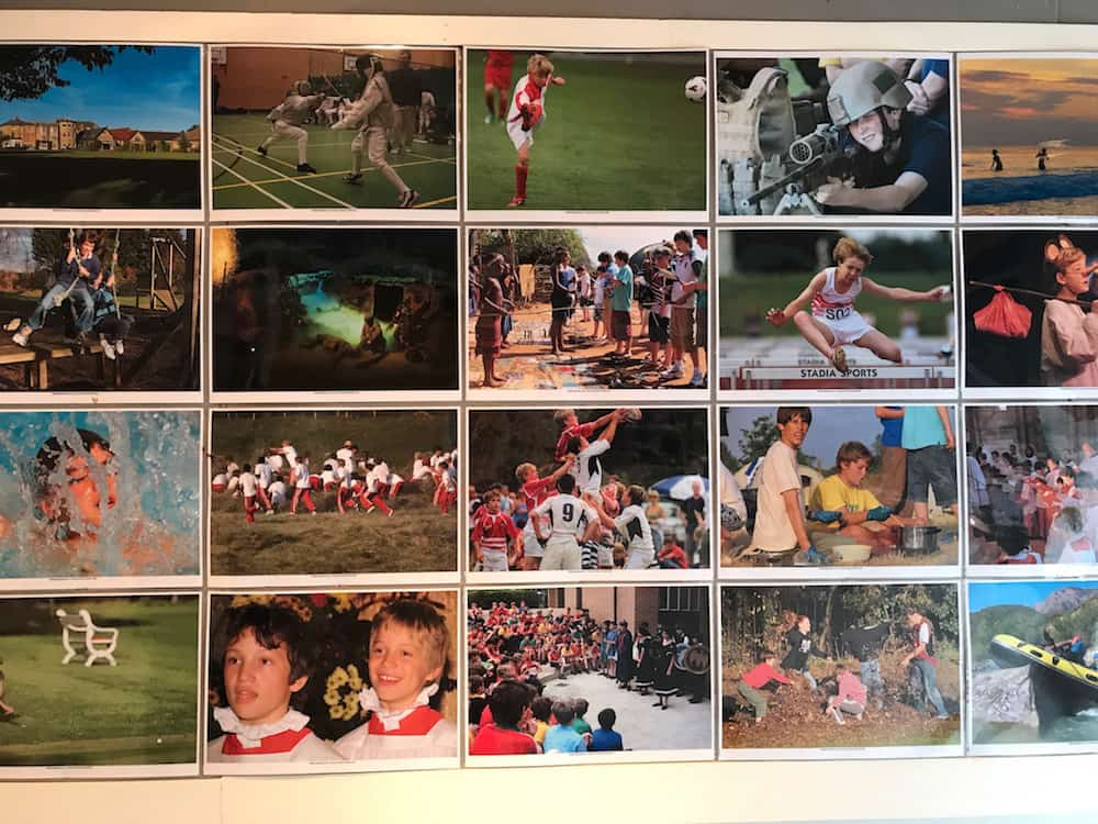 summer fields school photos montage