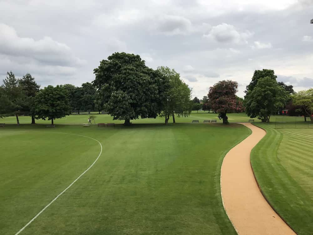 summerfield school field and path