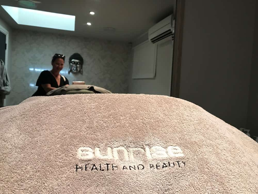 sunrise health and beauty embossed towels