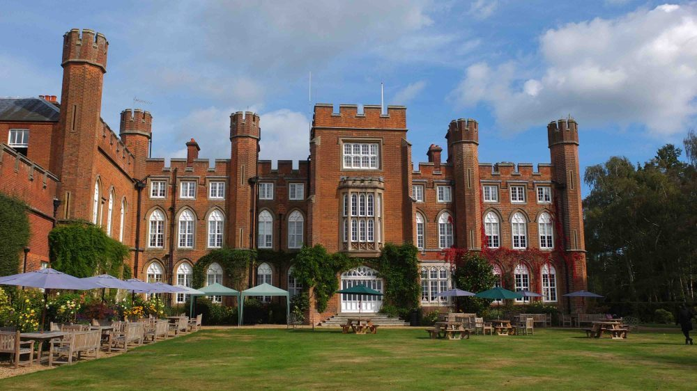 Cumberland lodge red brick castle