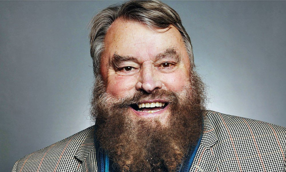 Brian blessed smiling big beard
