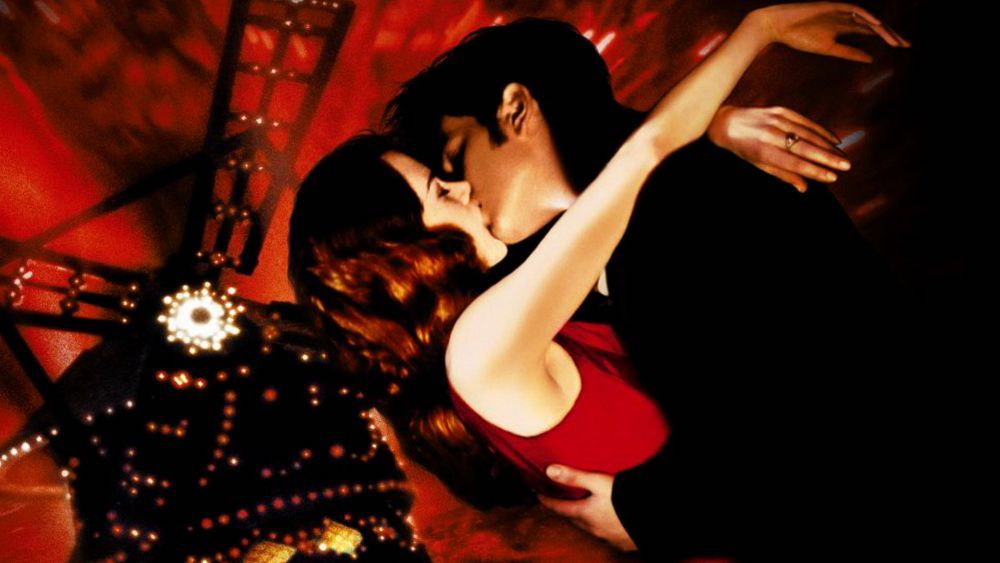 Moulin Rouge Kiss Nicole Kidman Ewan McGregor