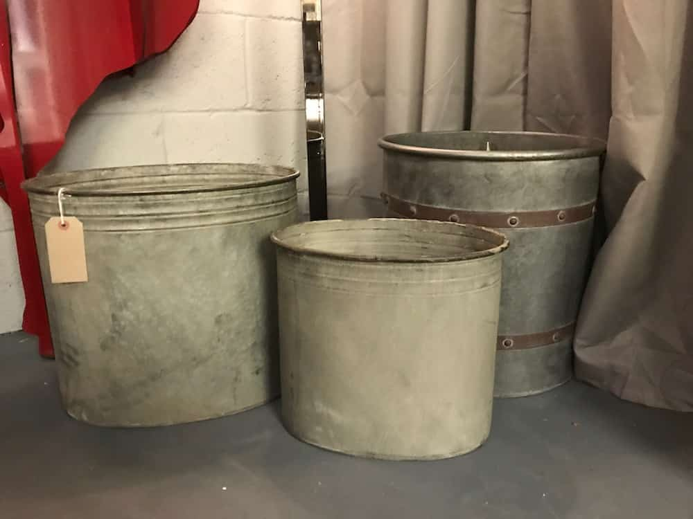 industrial metal pots