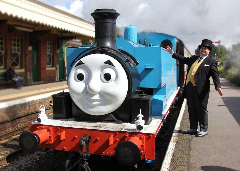 Thomas Tank Engine Fat Controller railway station