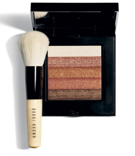 Bobbi brown make-up brush black bronze compact palette