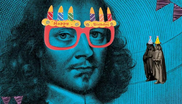 Elias Ashmole funny glasses candles birthday