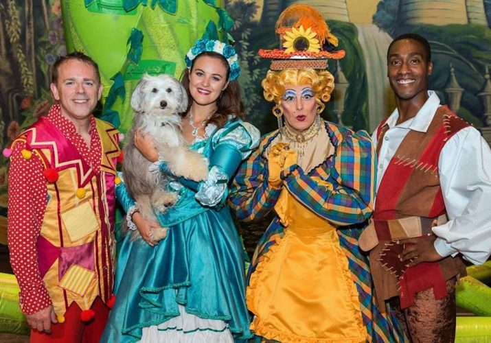 jack and the benstalk pantomime cast at wycombe Simon webs