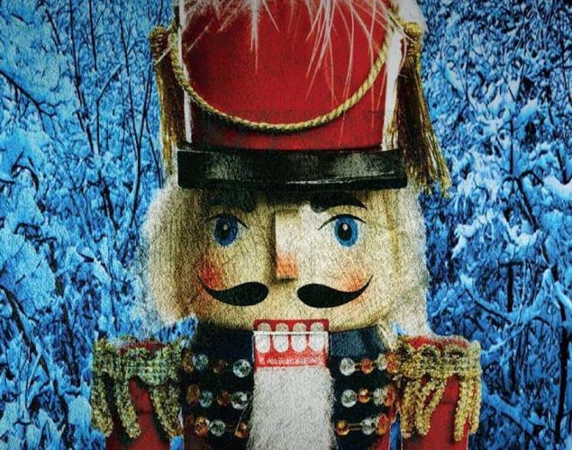 wooden soldier nutcracker in red uniform