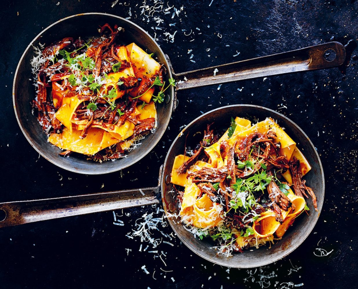 Pappardelle with brisket