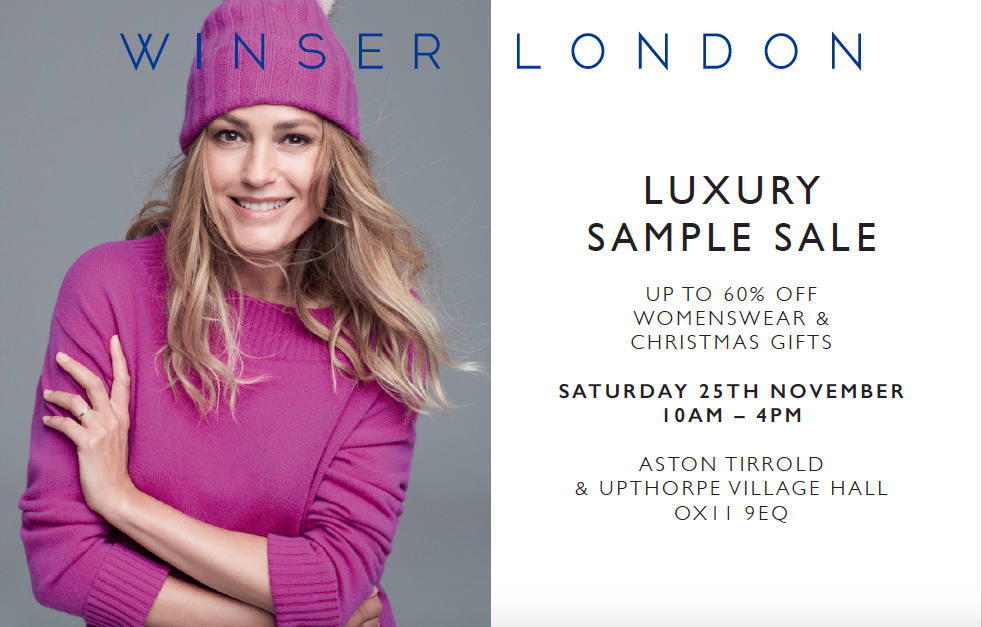 yasmin le bon model in bright pink bobble hat and jumper