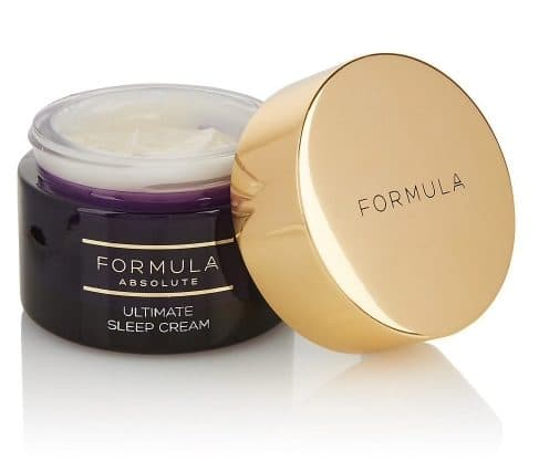 marks spencers face cream purple tub gold lid