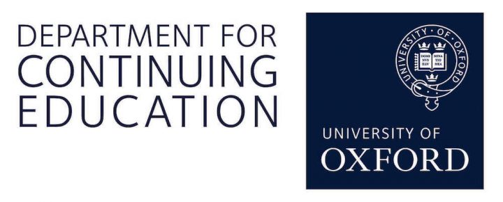 department continuing education oxford university logo sign