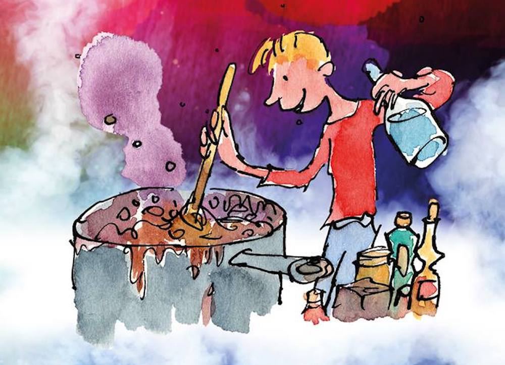 George marvellous medicine illustration