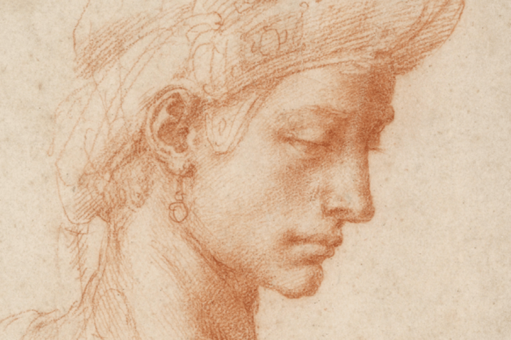 michelangelo drawing art exhibition oxford