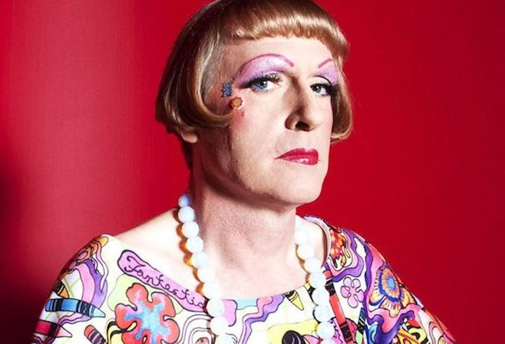 grayson perry artist contemporary art ceramics cross-dressing man make-up