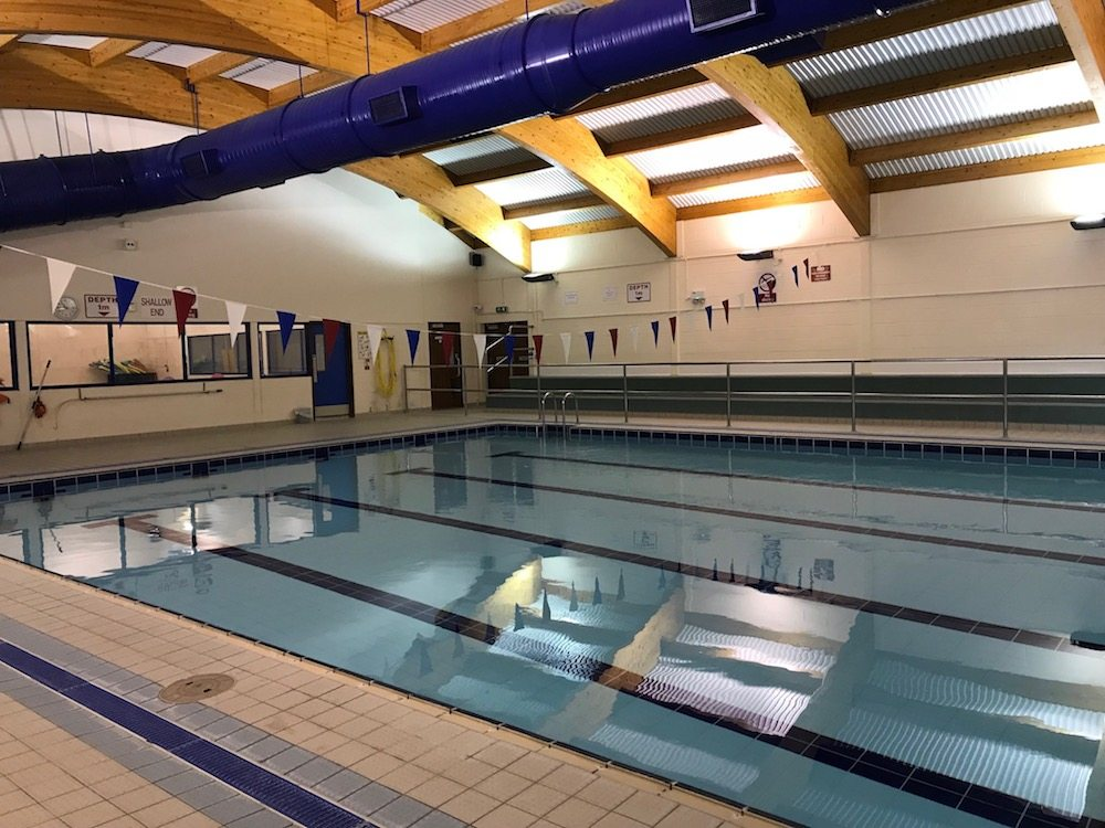 oratory swimming pool inside sports
