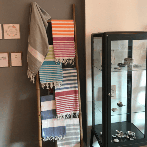that lovely stuff interior ladder and scarves