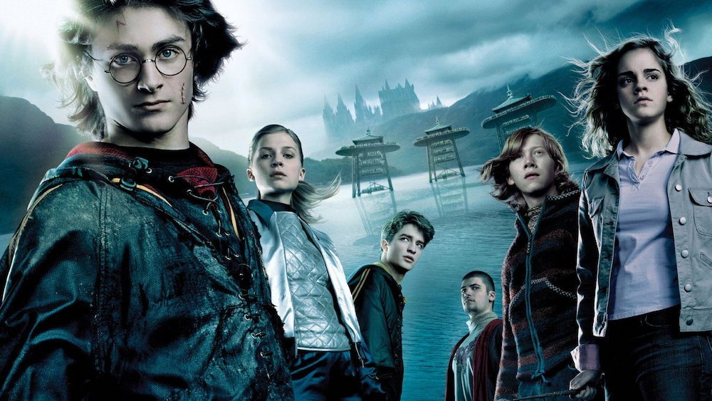 Harry Potter 4 goblet of fire movie poster teenage film