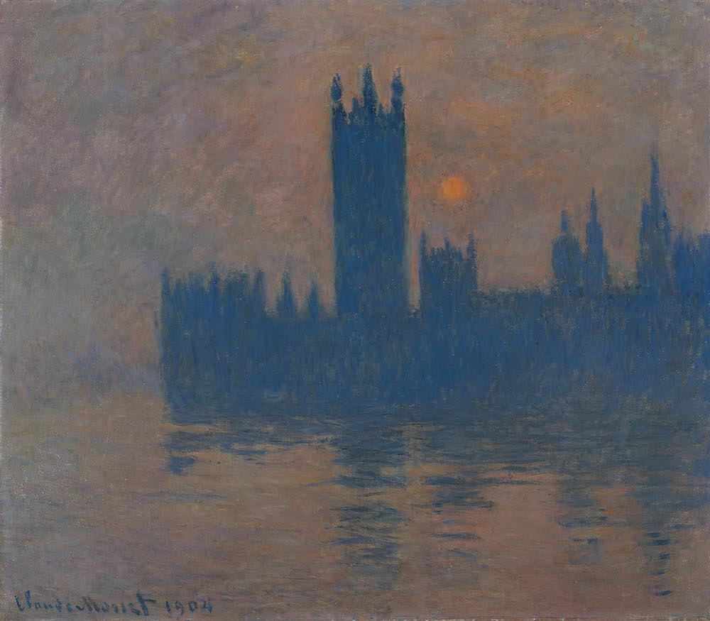 Claude monet houses of parliament Tate