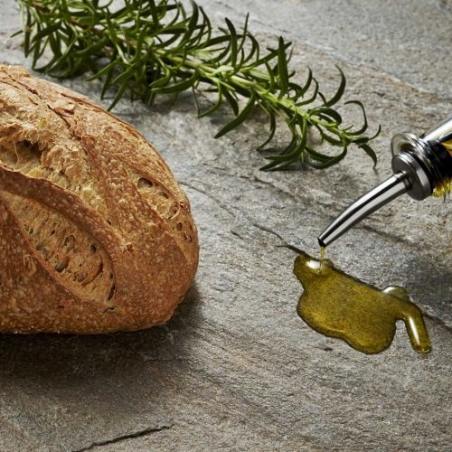 bread loaf olive oil rosemary