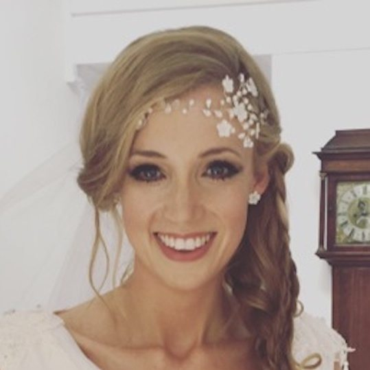 Katy Reay Scott wedding makeup