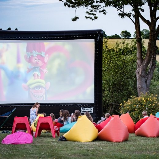 outdoor cinema british summer